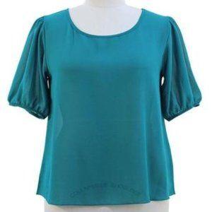 NWT Jon & Anna Angel Sleeves Blue Women Plus 2X